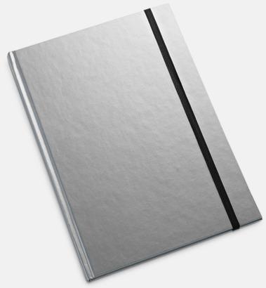 Silver Anteckningsböcker i 2 storlekar med reklamtryck