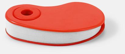 Röd Radergummin i fodral med reklamtryck