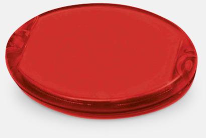 Röd Runda sykit med reklamtryck