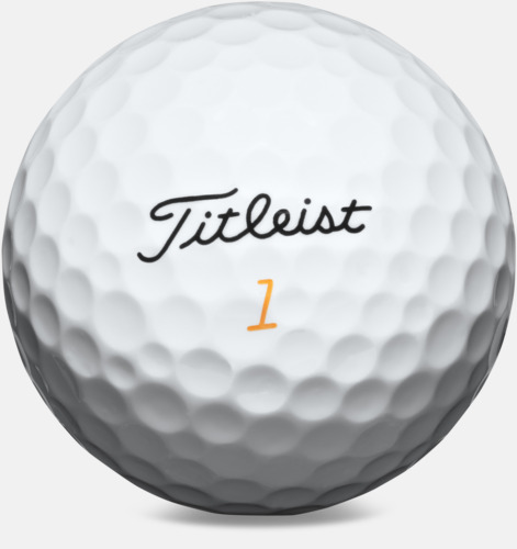 Vit Titleist Velocity - Logobollar med eget tryck