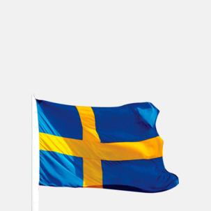 Svergieflaggor för supportrar - med reklamtryck