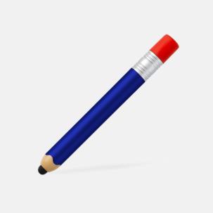 Bläck- & mobilpenna i rolig design