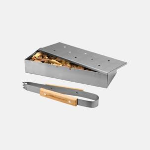 Röklådor för grillen med reklamlogo