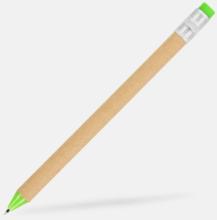 Eko bläckpenna designad som en blyertspenna - med reklamtryck