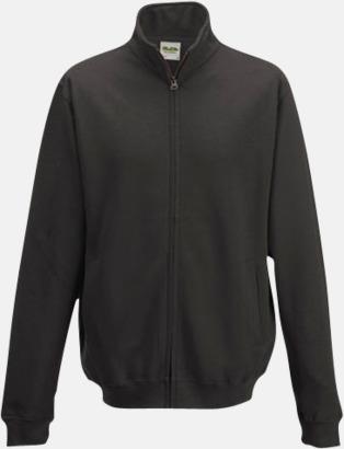 Charcoal (heather) Tjocktröjor i många färger med reklamtryck
