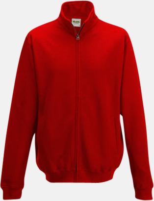 Fire Red Tjocktröjor i många färger med reklamtryck