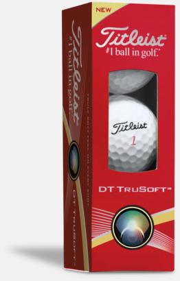 Titleist DT TruSoft golfbollar med reklamtryck