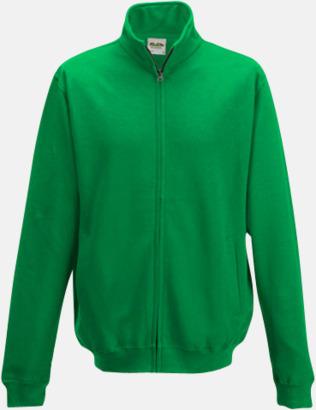 Kelly Green Tjocktröjor i många färger med reklamtryck