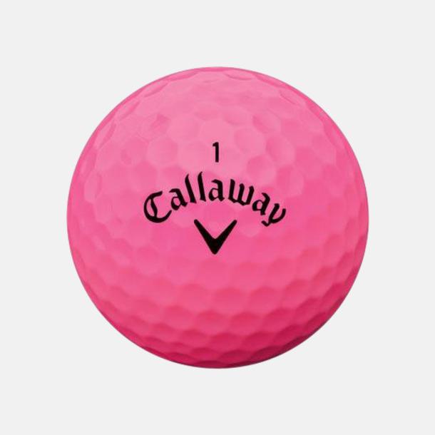 Rosa (matt) De mjukaste bollarna från Callaway