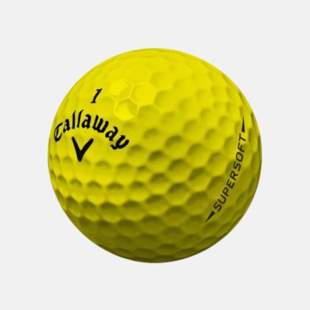Gul (blank) De mjukaste bollarna från Callaway