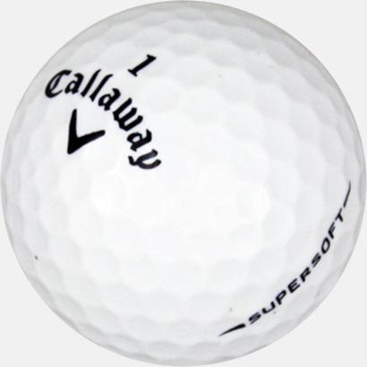 Vit De mjukaste bollarna från Callaway