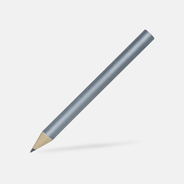 Silver Billiga blyertspennor i många färger med eget tryck
