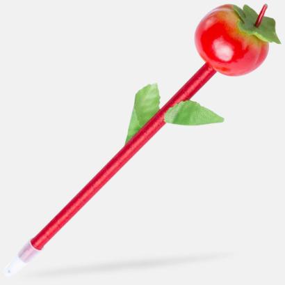 Tomat Penna med en frukt på toppen - med reklamtryck