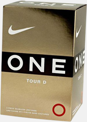 Vit Nike One Tour D - Golfbollar med egen logo