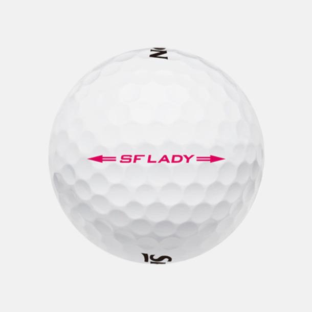 Beställ golfbollar från Srixon med reklamtryck