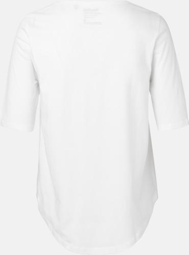 Eko dam t-shirts Fairtrade med längre ärmar - med reklamtryck b1374ff47246c