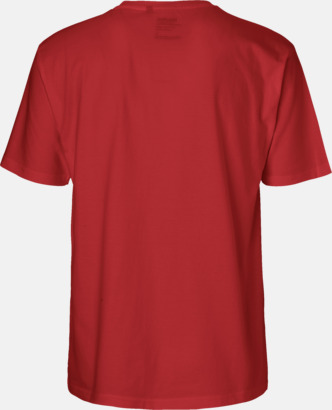 Klassiska t-shirts i ekologisk fairtrade-bomull med tryck