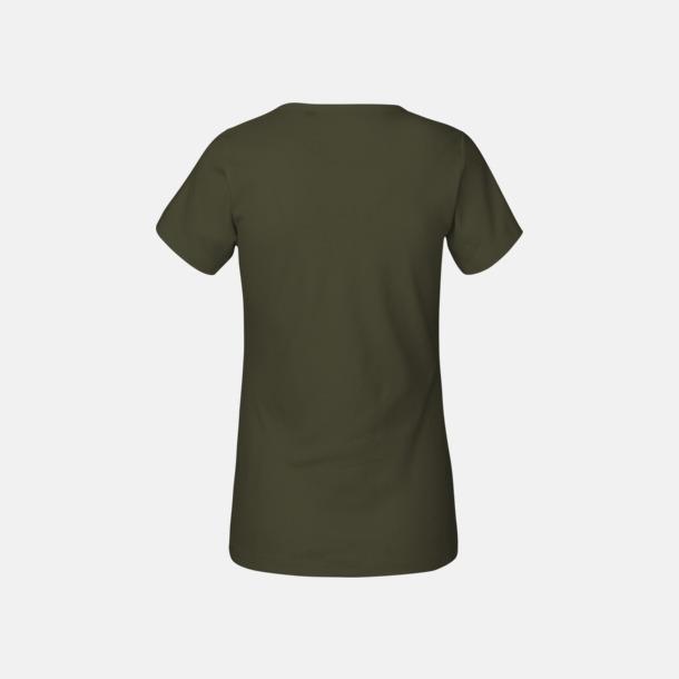 Eko t-shirts i interlocktyg med reklamtryck