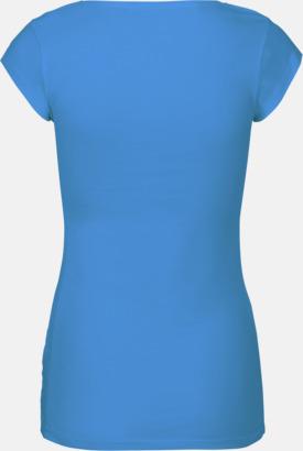 Djupare eko t-shirts Fairtrade med reklamtryck