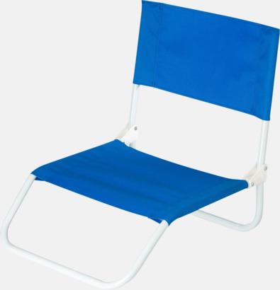 Blå Billigare brassestolar med reklamtryck