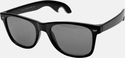Svart Solglasögon & flasköppnare i 1 - med reklamtryck!