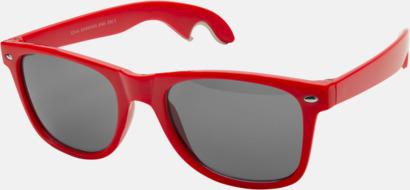Röd Solglasögon & flasköppnare i 1 - med reklamtryck!