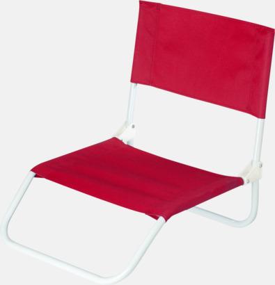 Röd Billigare brassestolar med reklamtryck