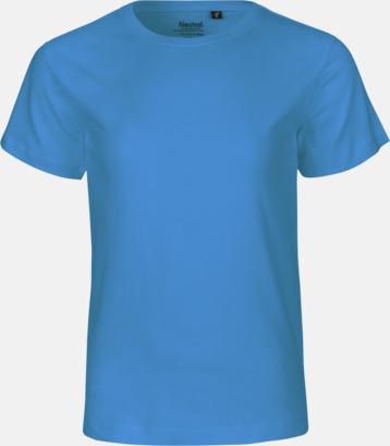 Sapphire Ekologiska t-shirts för barn av ekologisk bomull - med tryck
