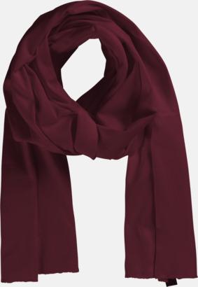 Bordeaux Eko & Fairtrade-certifierade scarfs med reklamtryck