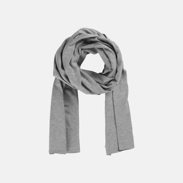 Sports Grey Melange Eko & Fairtrade-certifierade scarfs med reklamtryck