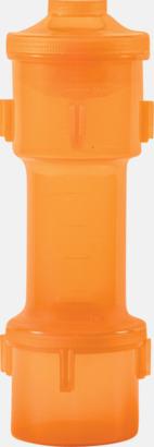 Orange Shakers med flera smarta utrymmen - med reklamtryck