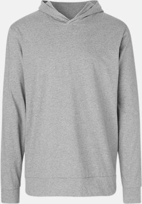 Sports Grey Ekologiska huvtröjor i unisex med tryck