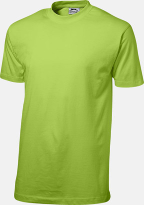 Apple (herr) Herr-, dam & barn t-shirts från Slazenger med reklamtryck