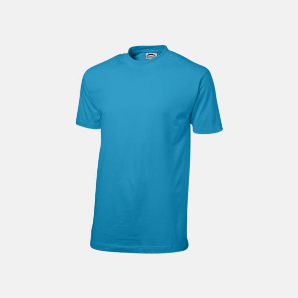 Aqua (herr) Herr-, dam & barn t-shirts från Slazenger med reklamtryck