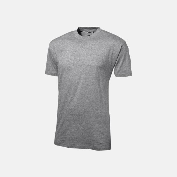 Grey Melange (herr) Herr-, dam & barn t-shirts från Slazenger med reklamtryck