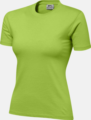 Apple (dam) Herr-, dam & barn t-shirts från Slazenger med reklamtryck