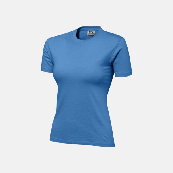 Aqua (dam) Herr-, dam & barn t-shirts från Slazenger med reklamtryck