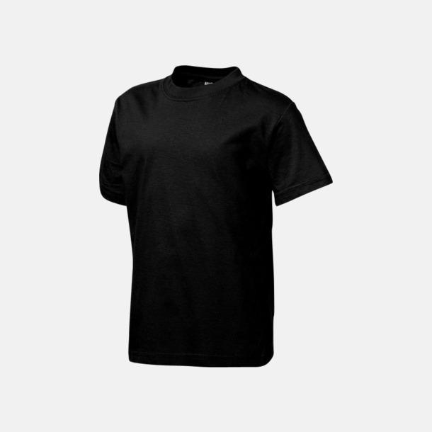 Svart (barn) Herr-, dam & barn t-shirts från Slazenger med reklamtryck