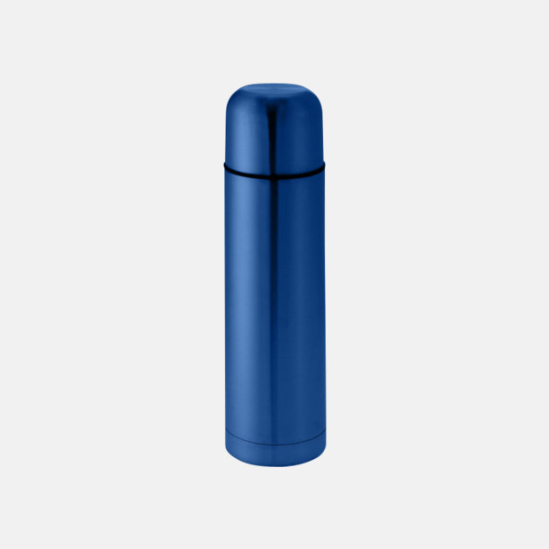 Marinblå Klassiska termosflaskor med reklamlogo
