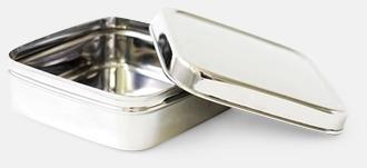 Silver 62 cl matlåda i rostfritt stål med reklamlogo
