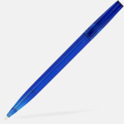 Blå Billiga bläckpennor med reklamtryck