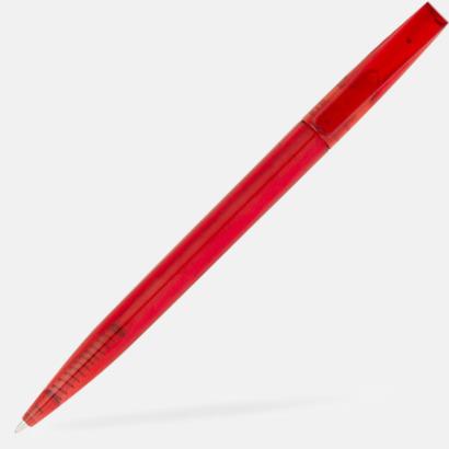 Röd Billiga bläckpennor med reklamtryck
