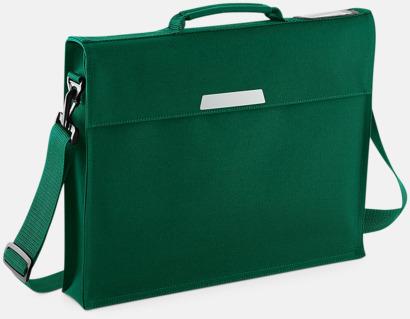 Bottle Green (med rem) Bokväskor med eller utan axelrem - med reklamtryck