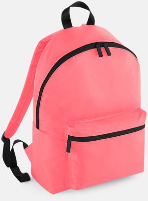 Electric Pink (endast vuxen, se tillval) Klassisk ryggsäck i 2 storlekar med eget tryck