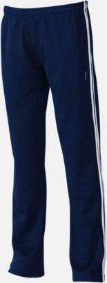 Marinblå Träningsbyxor från Slazenger med reklamtryck