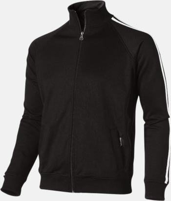Svart (herr) Sweattröjor från Slazenger med reklamtryck