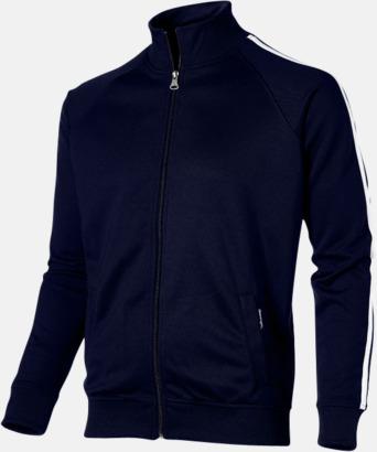 Marinblå (herr) Sweattröjor från Slazenger med reklamtryck