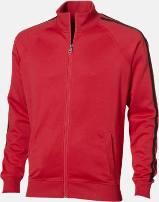 Röd (herr) Sweattröjor från Slazenger med reklamtryck