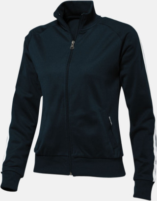 Marinblå (dam) Sweattröjor från Slazenger med reklamtryck