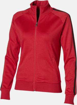 Röd (dam) Sweattröjor från Slazenger med reklamtryck